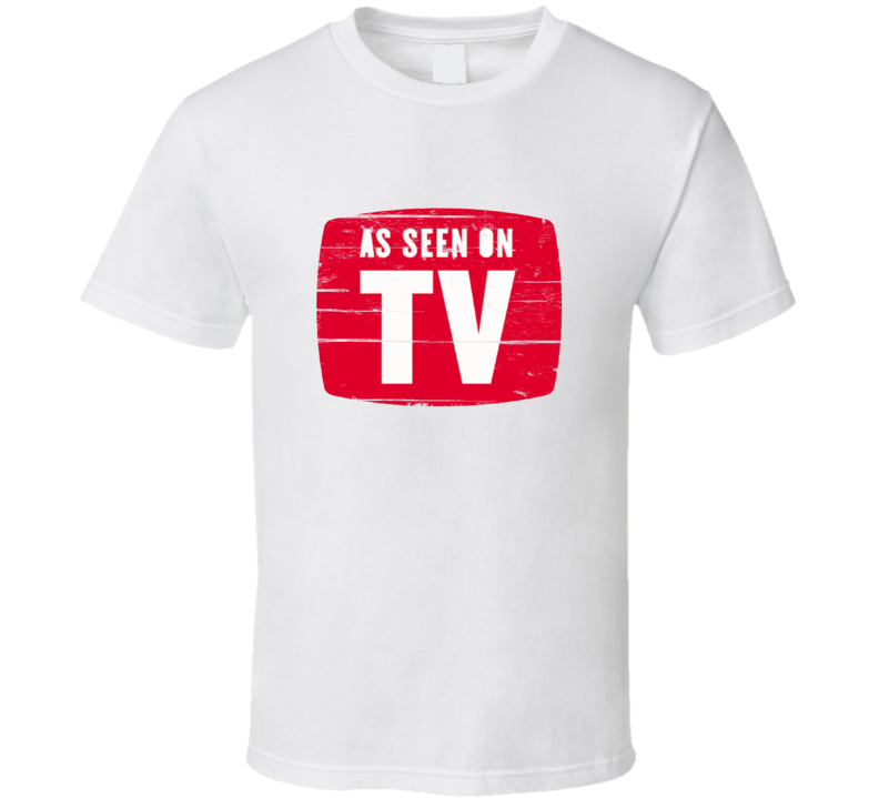 As Seen On TV Aged Look Infomercial T Shirt