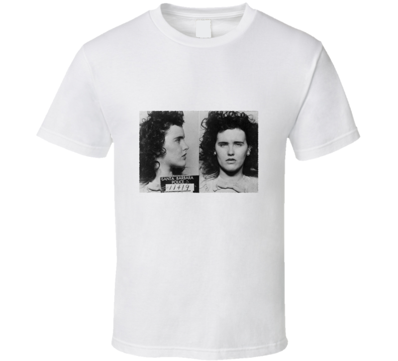 Elizabeth Short Black Dahlia Mugshot Photo Vintage T Shirt