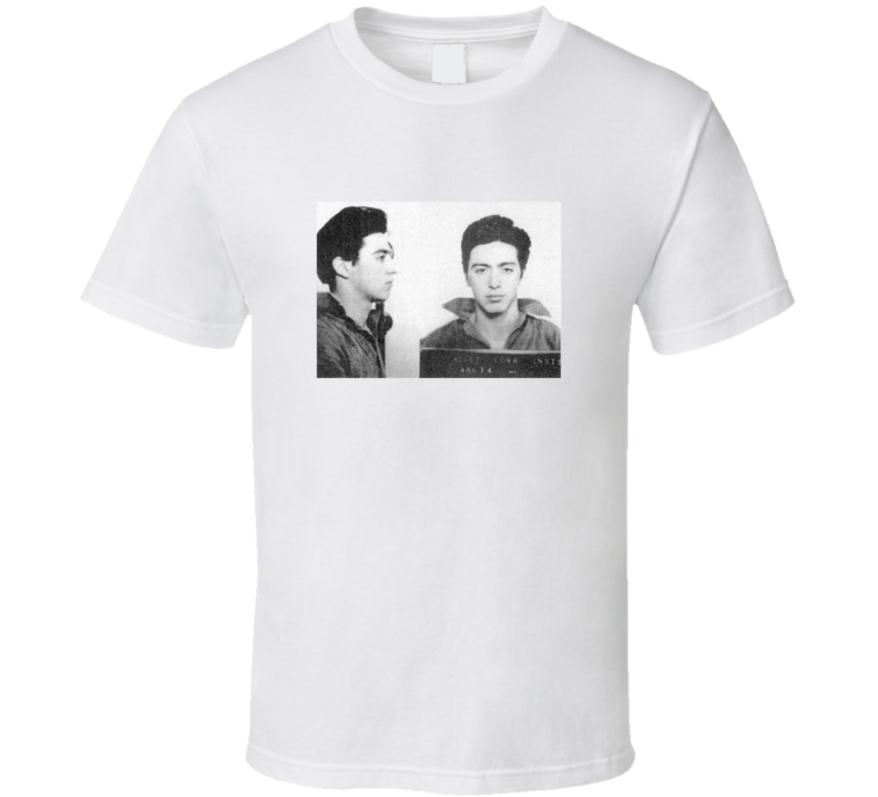 Al Pacino Mugshot Vintage Look T Shirt