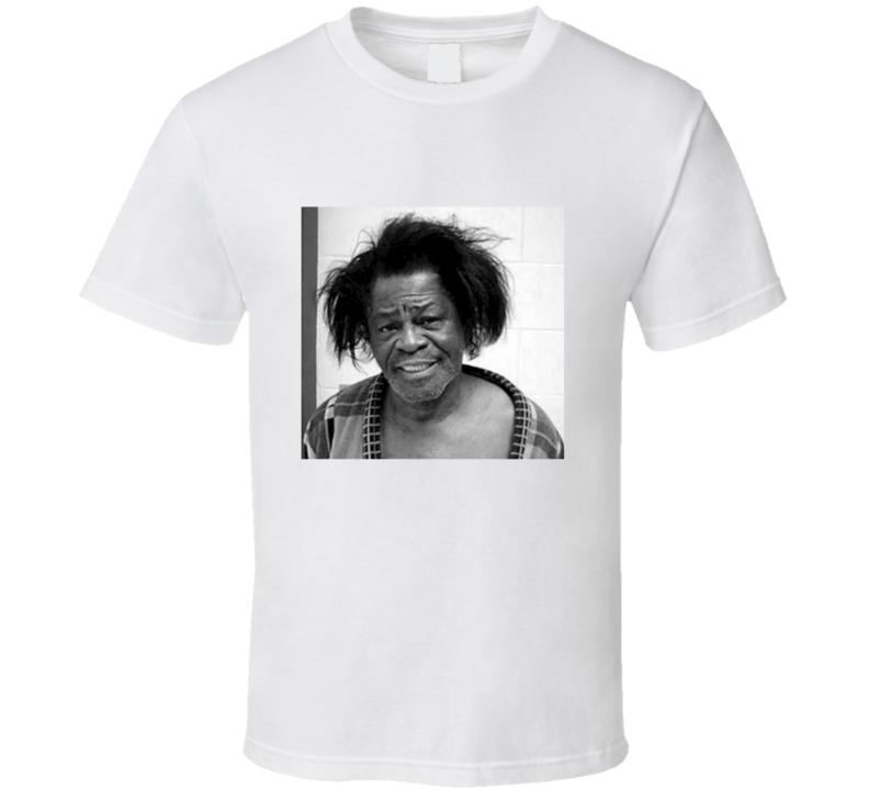 75d8789a James Brown DUI Mugshot Vintage Look T Shirt