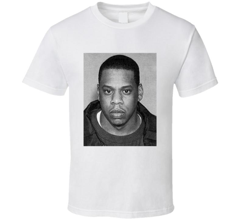 Jay Z Mugshot Vintage Look T Shirt