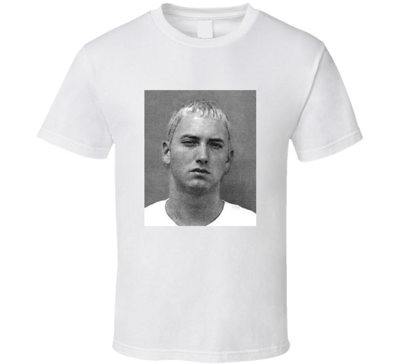 Marshall Mathers Mugshot Vintage Look T Shirt