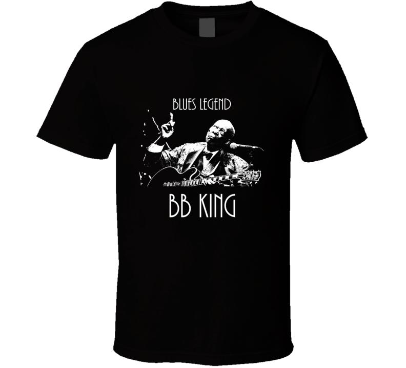 Blues Legend B.B. King Lucille Tribute T Shirt