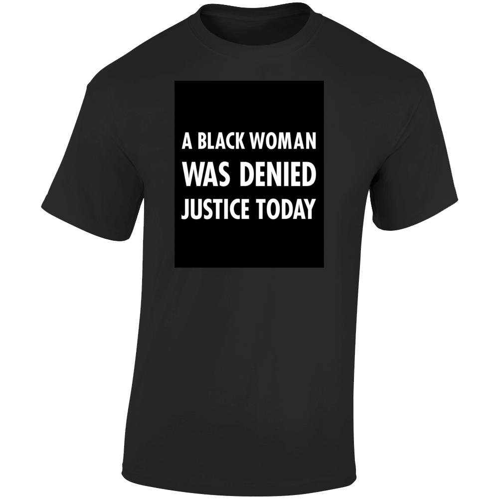 Black Woman T Shirt