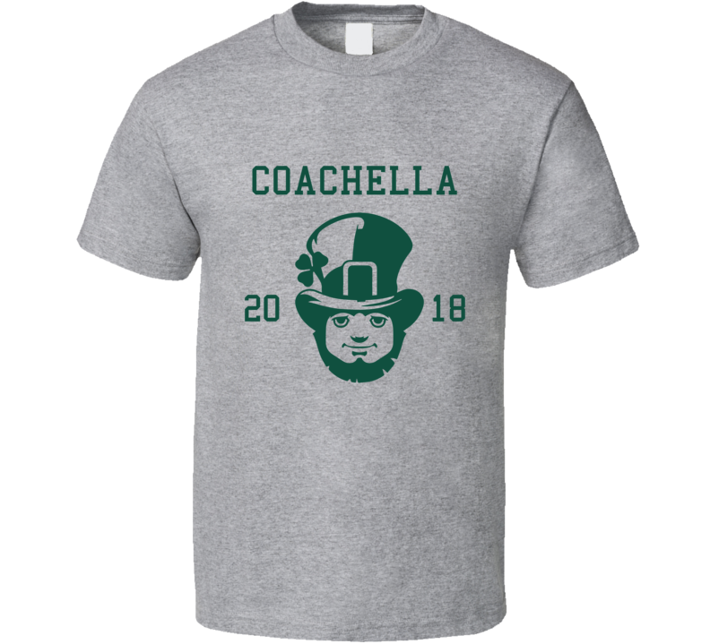 Coachella 2018 St Patricks Day City Team T Shirt