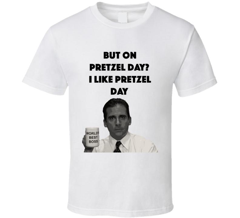 Pretzel Day The Office T Shirt