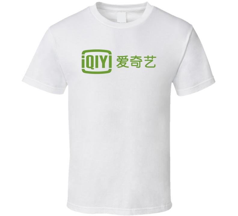 Iqiyi Inc Nasdaq Company Logo Employee Fan T Shirt