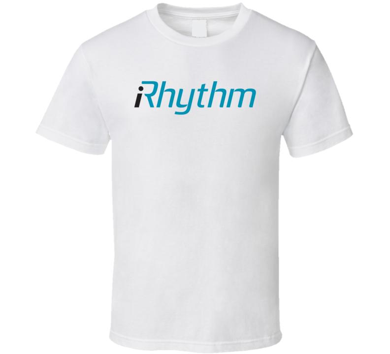 Irhythm Technologies Inc Nasdaq Company Logo Employee Fan T Shirt