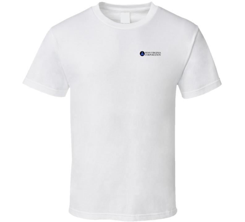 Penn Virginia Corporation Nasdaq Company Logo Employee Fan T Shirt