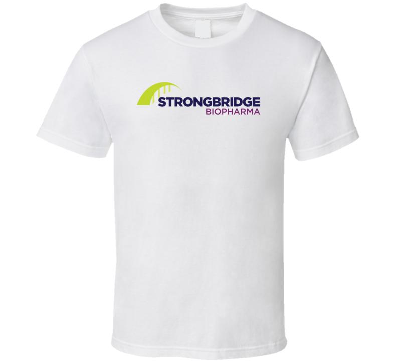 Strongbridge Biopharma Plc Nasdaq Company Logo Employee Fan T Shirt