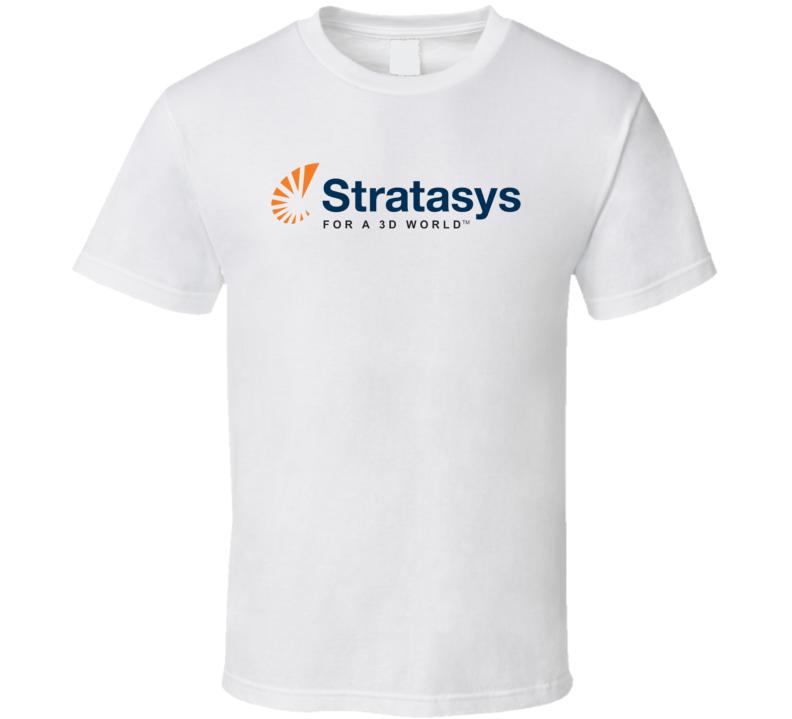 Stratasys Ltd Nasdaq Company Logo Employee Fan T Shirt