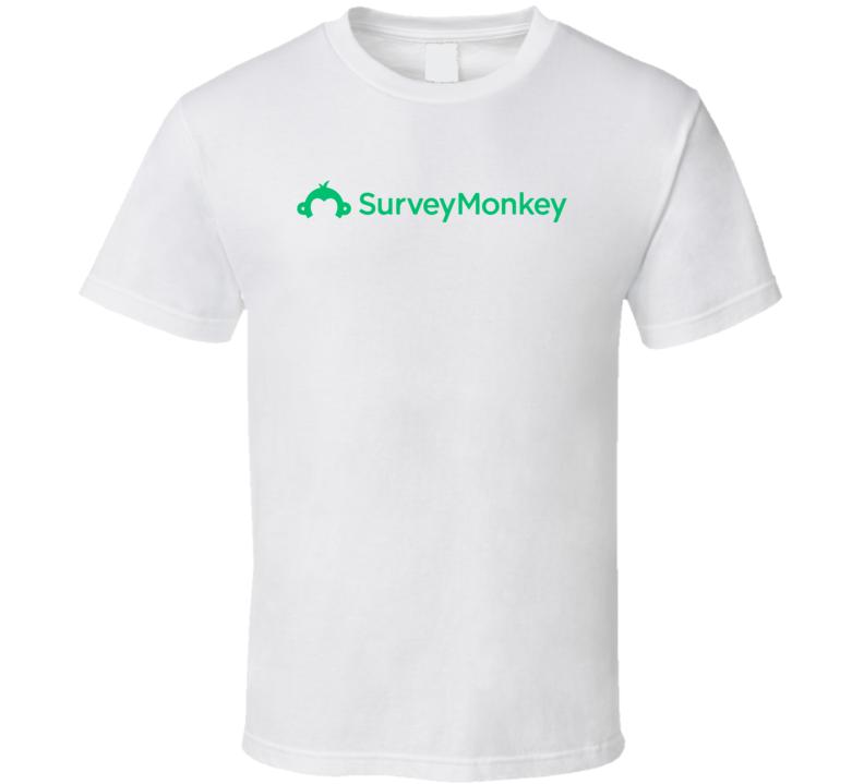 Svmk Inc Survey Monkey Nasdaq Company Logo Employee Fan T Shirt