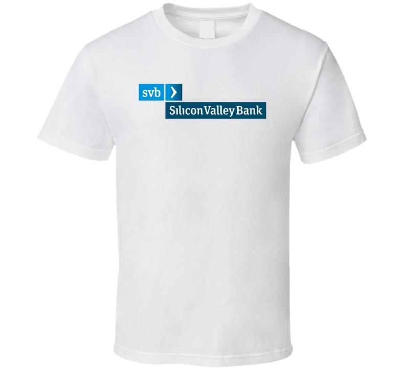 Svb Financial Group Nasdaq Company Logo Employee Fan T Shirt