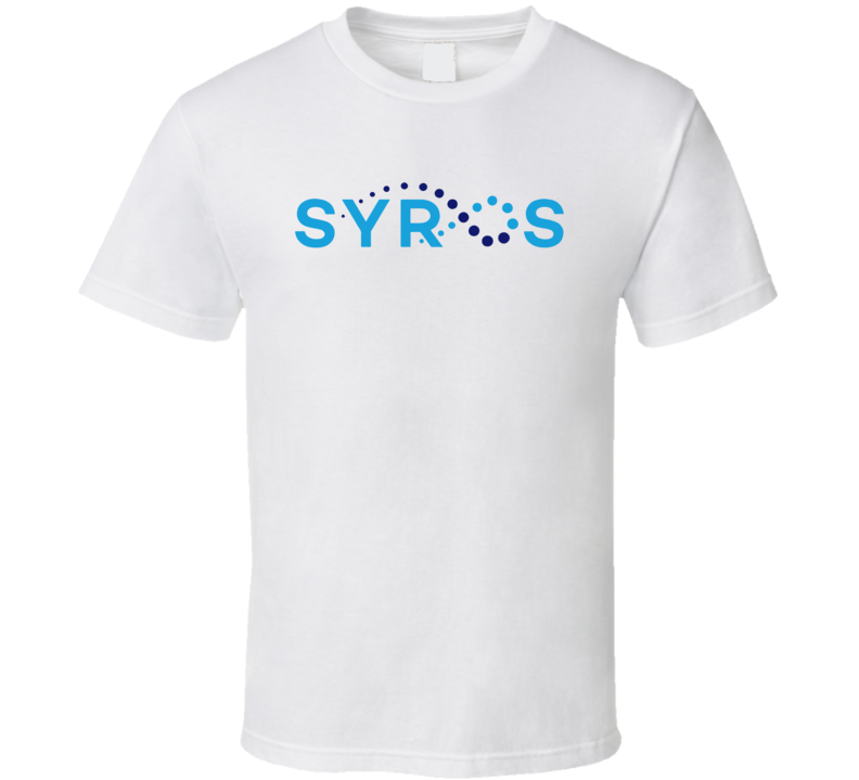 Syros Pharmaceuticals Inc Nasdaq Company Logo Employee Fan T Shirt