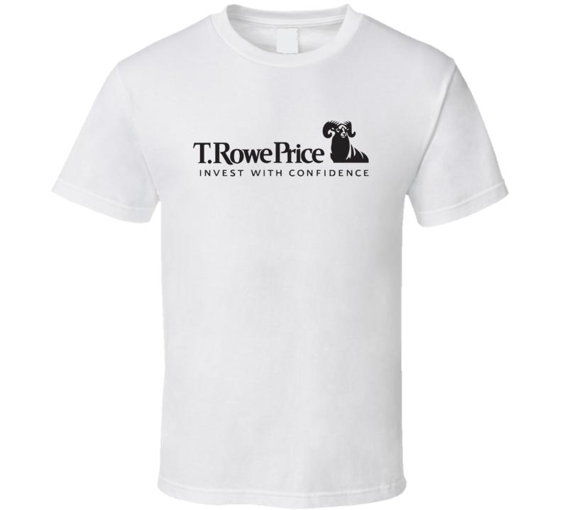 T Rowe Price Group Inc Nasdaq Company Logo Employee Fan T Shirt