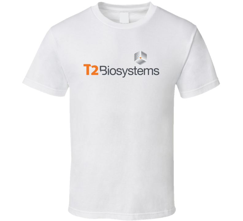 T2 Biosystems Inc Nasdaq Company Logo Employee Fan T Shirt
