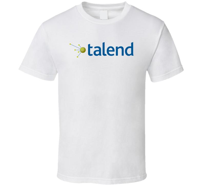 Talend Sa Nasdaq Company Logo Employee Fan T Shirt