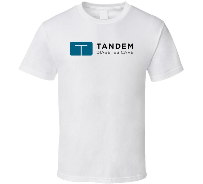 Tandem Diabetes Care Inc Nasdaq Company Logo Employee Fan T Shirt