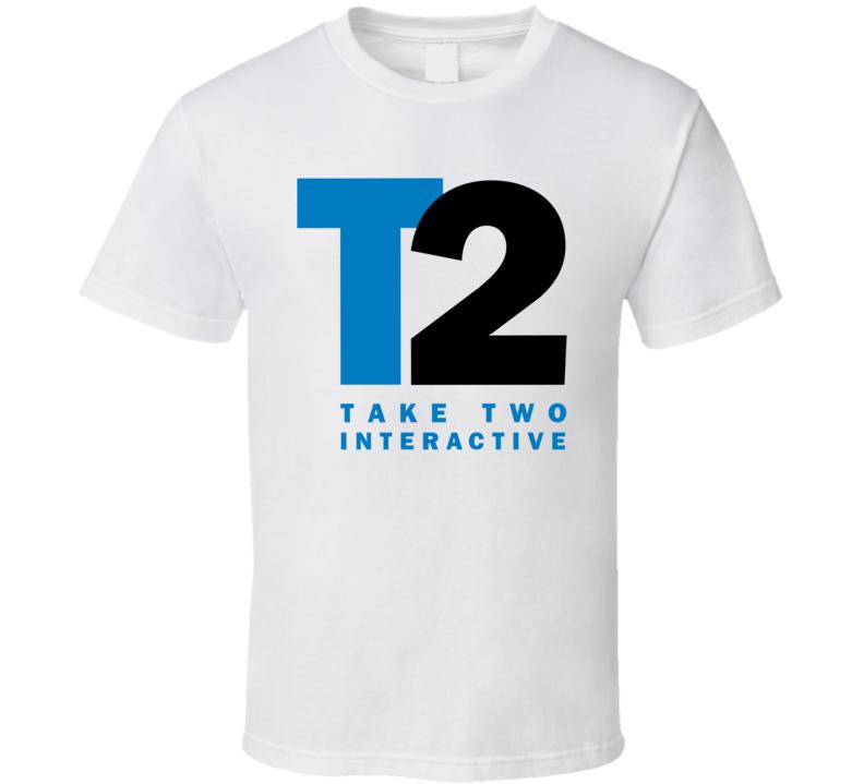 Take-two Interactive Software Inc Nasdaq Company Logo Employee Fan T Shirt