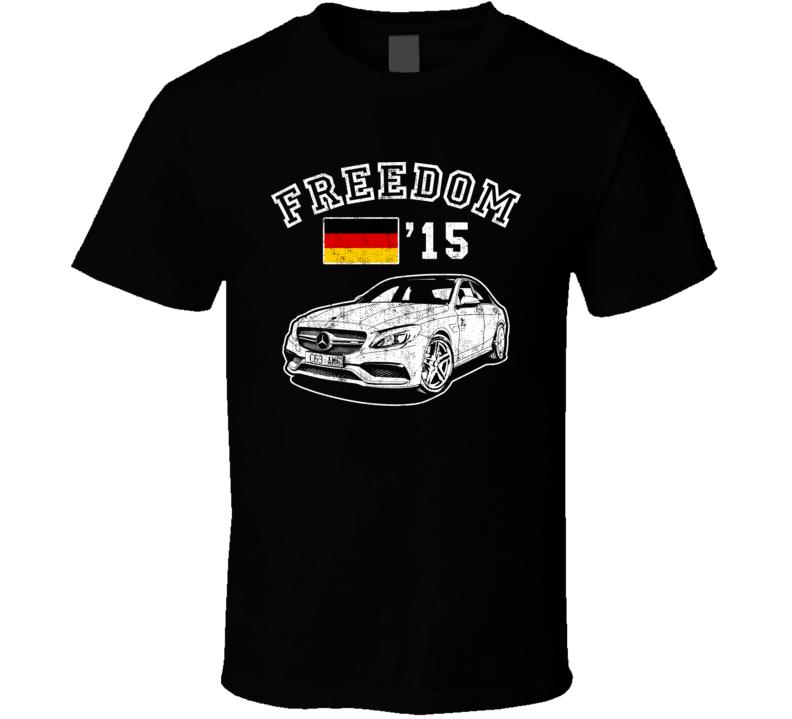 2015 Mercedes Benz C63 Amg Freedom Car Fan Worn Look T Shirt