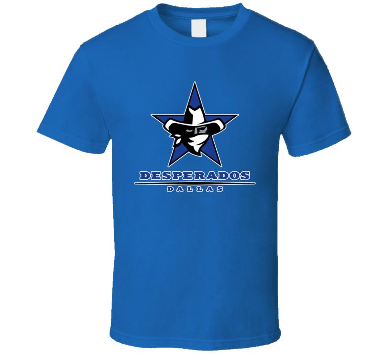 Dallas Desperados Arena Football League Team Fan Logo T Shirt