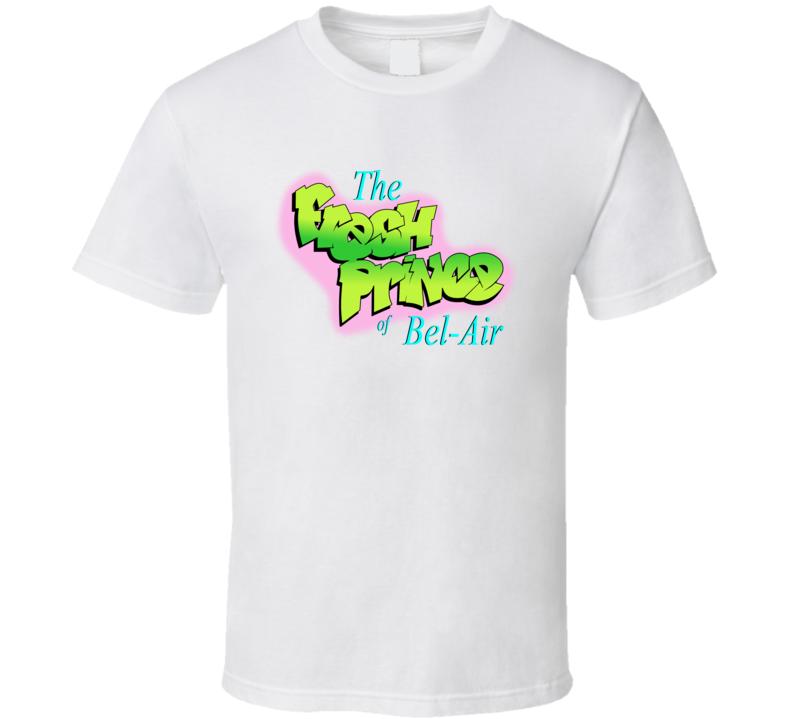 Fresh Prince Of Bel-air Logo Will Smith Retro 90s Tv Show Fan T Shirt
