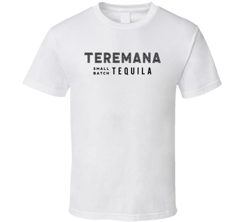 Teremana Small Batch Tequila Dwayne The Rock Johnson Logo T Shirt