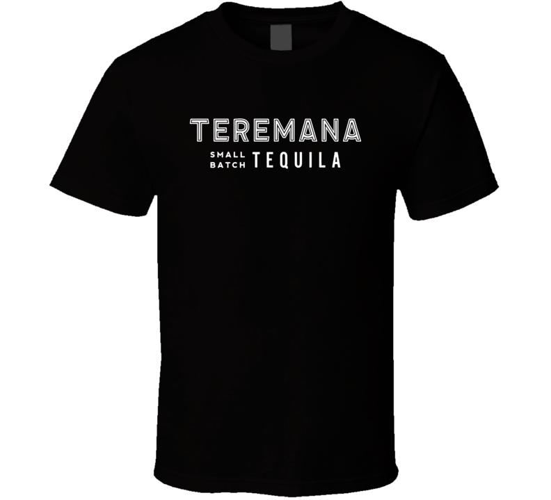 Teremana Small Batch Tequila Dwayne The Rock Johnson Brand Logo T Shirt