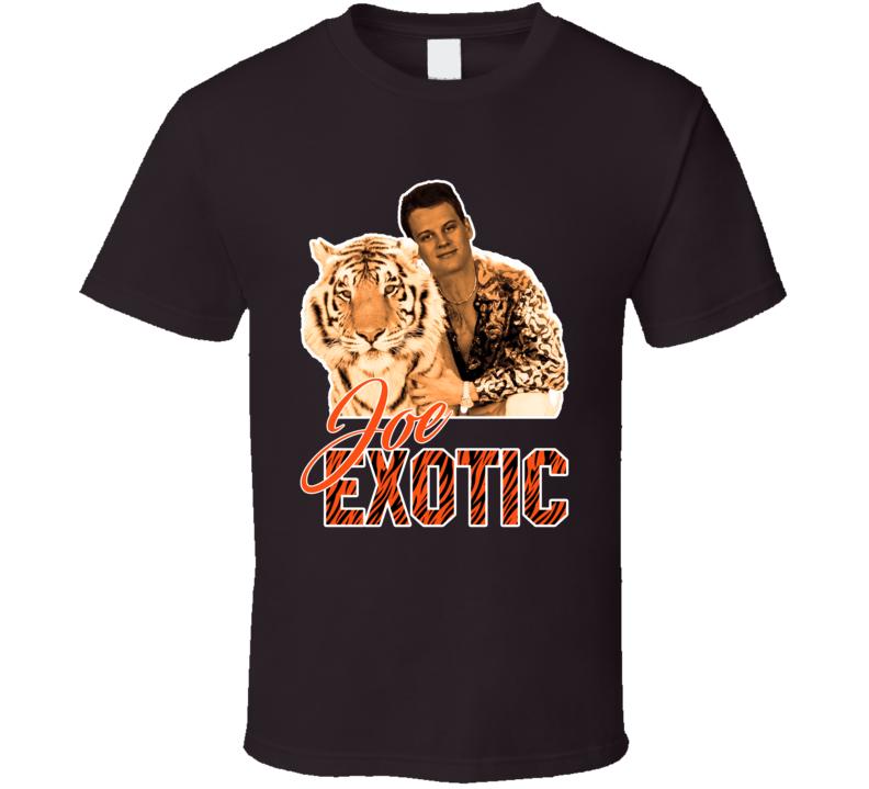 Joe Burrow Joe Exotic Quarterback Cincinnati Football Fan Parody T Shirt