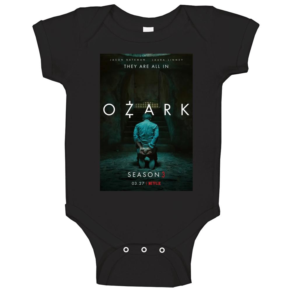 Ozark Season 3 Netflix Popular Tv Series Poster Baby One Piece