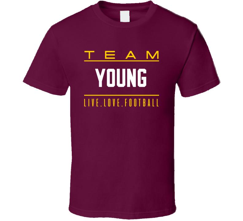 Team Chase Young Washibgton Foorball  T Shirt