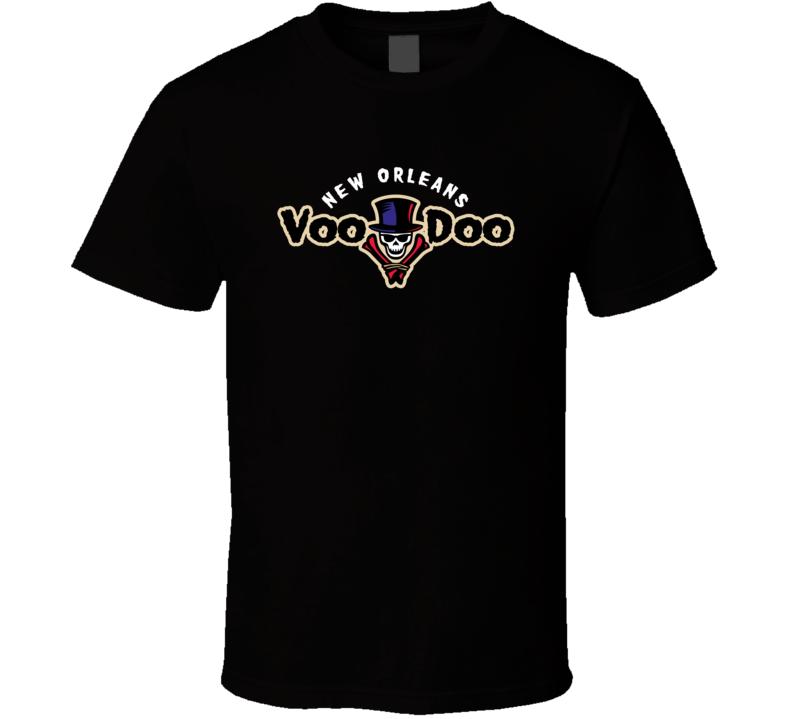 New Orleans Voodoo Arena Football League Team Fan Logo Cool T Shirt