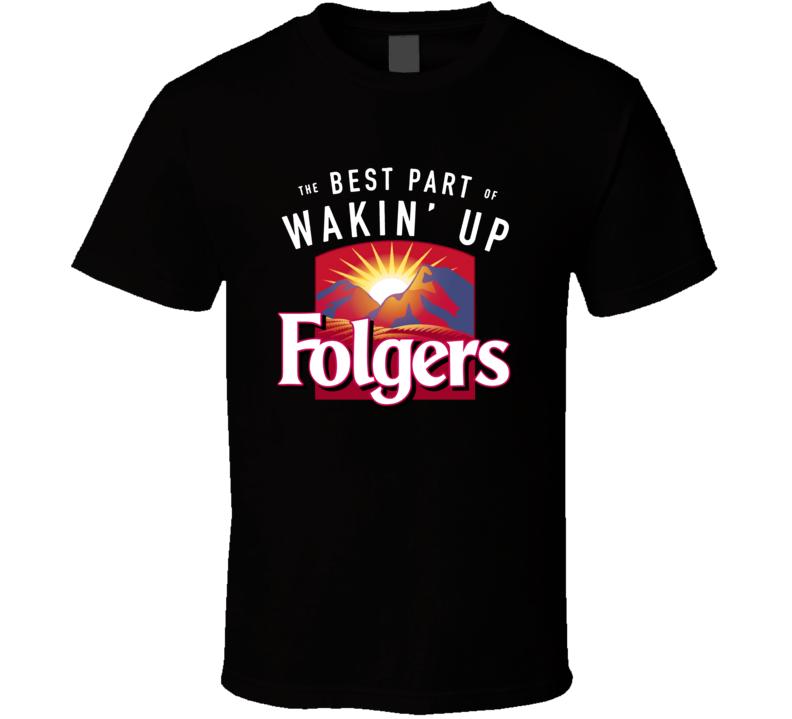 Folgers Coffee Drink Cool Fan T Shirt