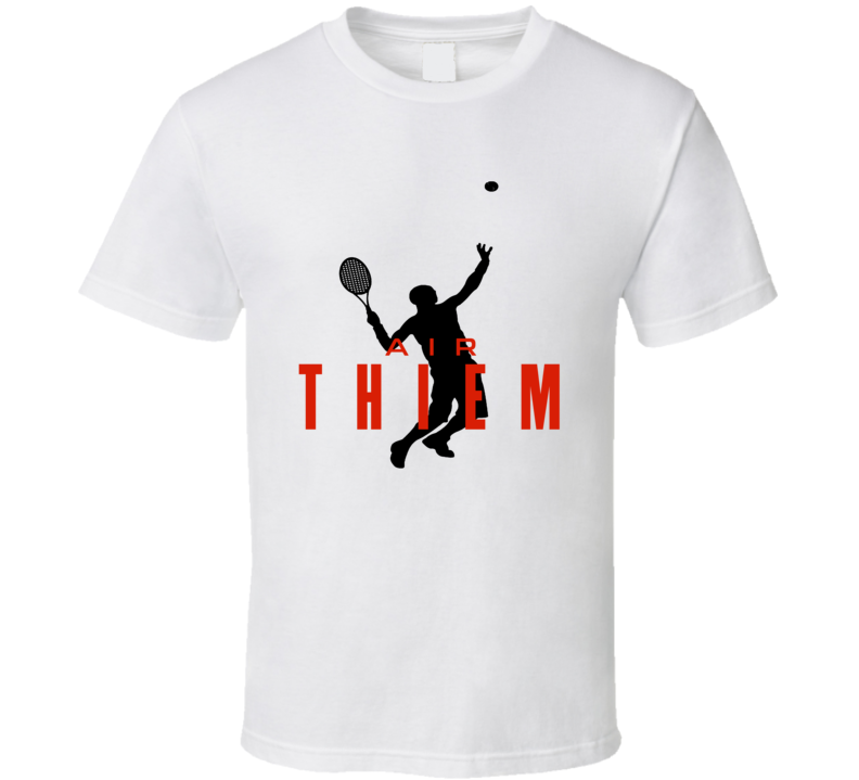 Air Dominic Thiem Austrian Star Tennis Player Fan Womens Cool T Shirt