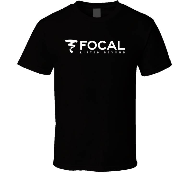 Focal Sound Car Audio Sub Woofer Logo Cool T Shirt