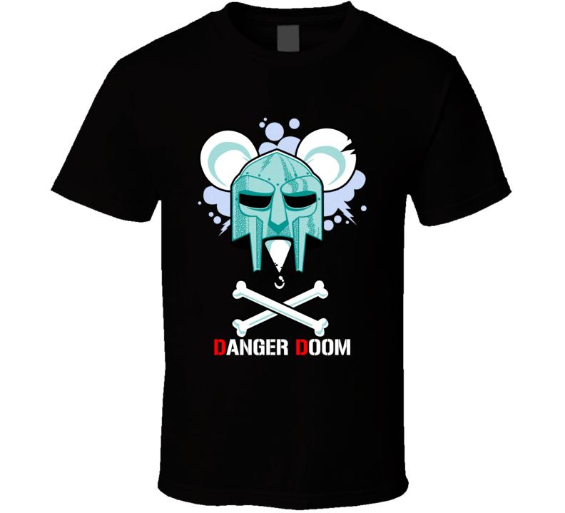 Danger Doom Mf Doom Danger Mouse Collaboration Music T Shirt