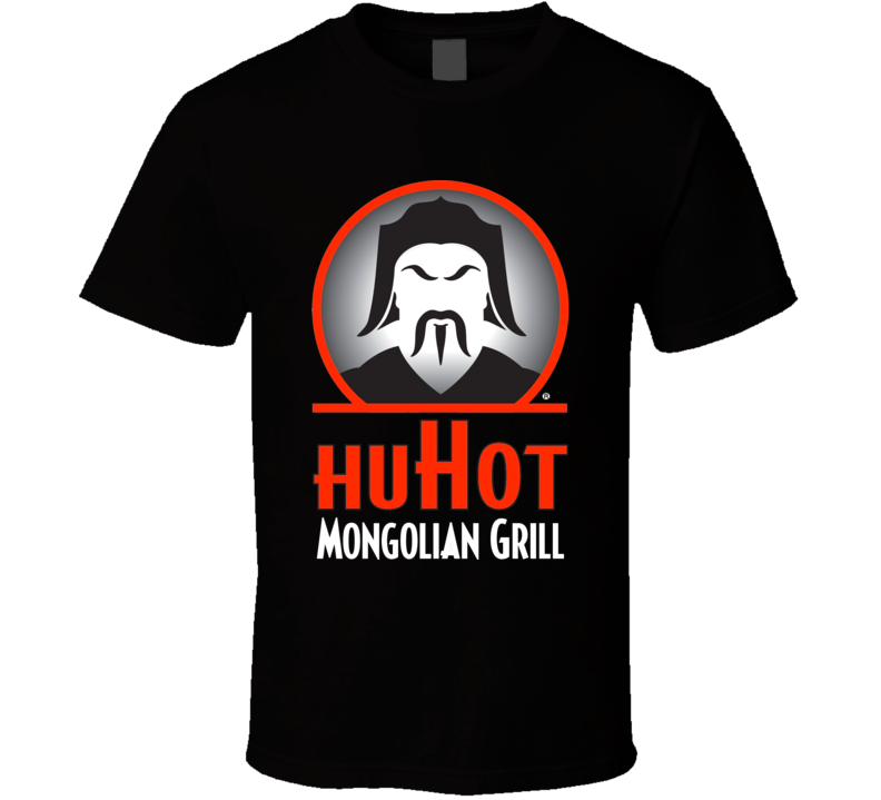 Huhot Mongolian Grill Top American Chinese Fast Food Cool T Shirt