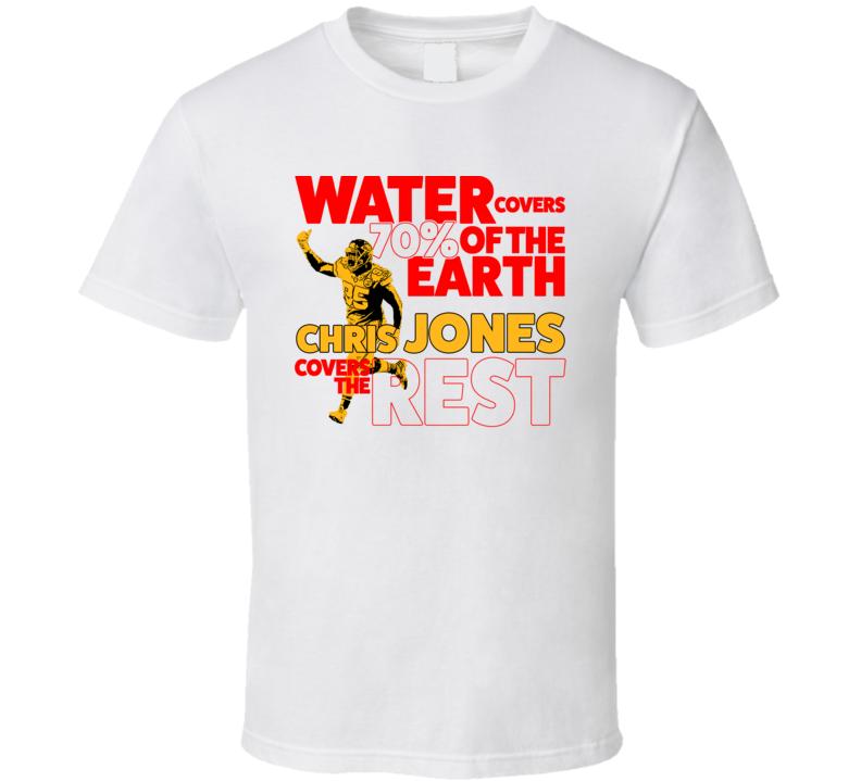 Chris Jones Defence Covers Kc Kansas City Football T Shirt