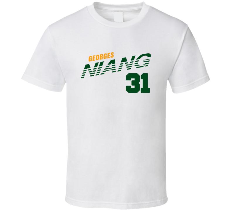 Georges Niang 31 Favorite Player Utah Basketball T Shirt