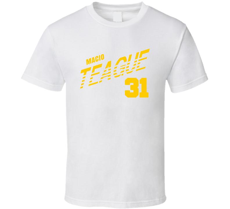 Macio Teague 31 Favorite Player Baylor College Basketball T Shirt