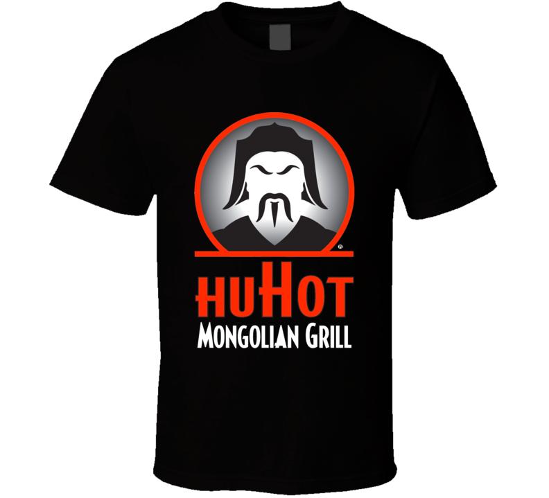 Huhot Mongolian Grill Top American Chinese Food T Shirt