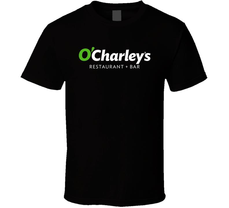 O Charley's Favourite Food Fan T Shirt