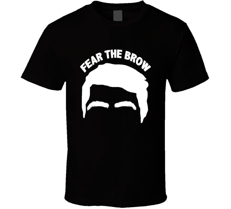 Luka Garza Fear The Brow Basketball Fan T Shirt