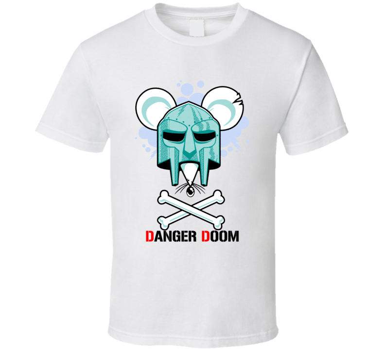 Danger Doom Mf Doom Danger Mouse Collaboration T Shirt