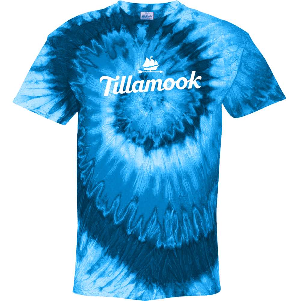 Tillamook Ice Cream Logo Tie Dye