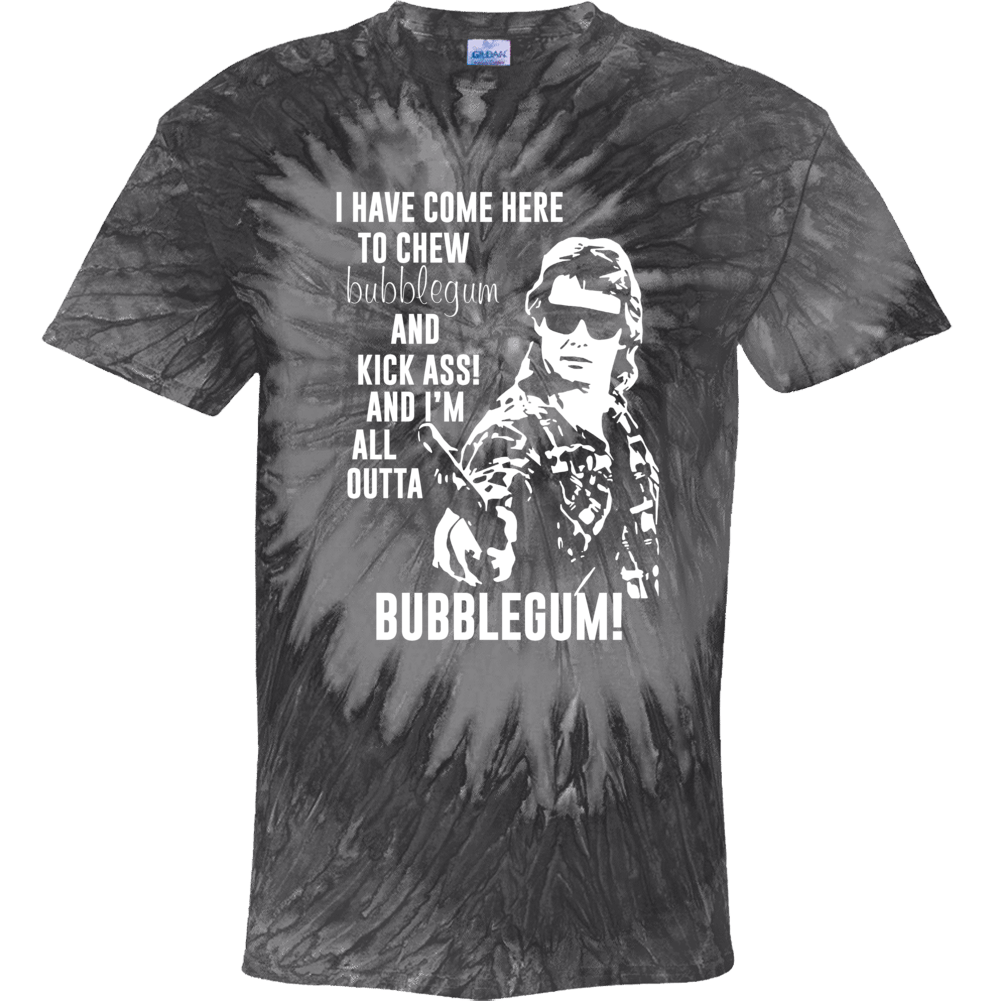 Roddy Piper They Live I'm All Outta Bubblegum Movie Fan Tie Dye