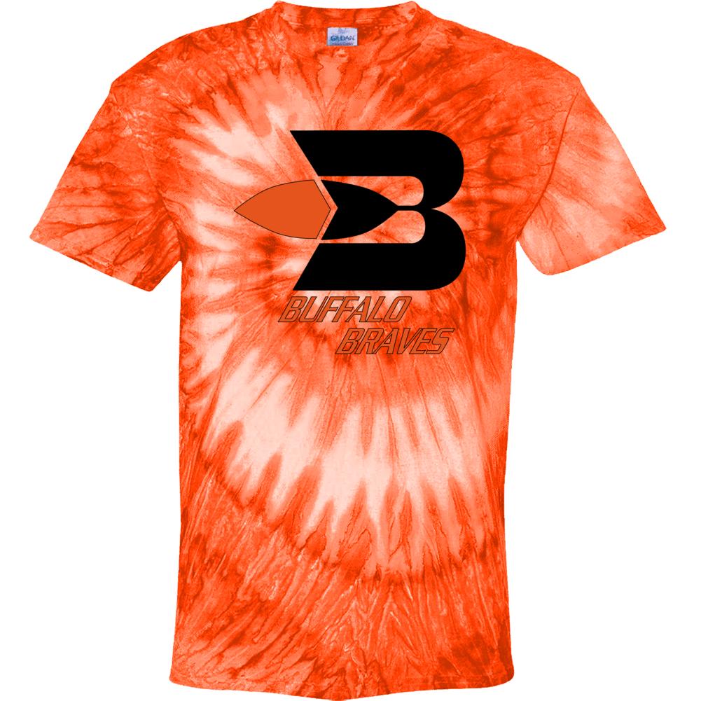 Buffalo Braves Retro 70's Logo Basketball Fan Tie Dye