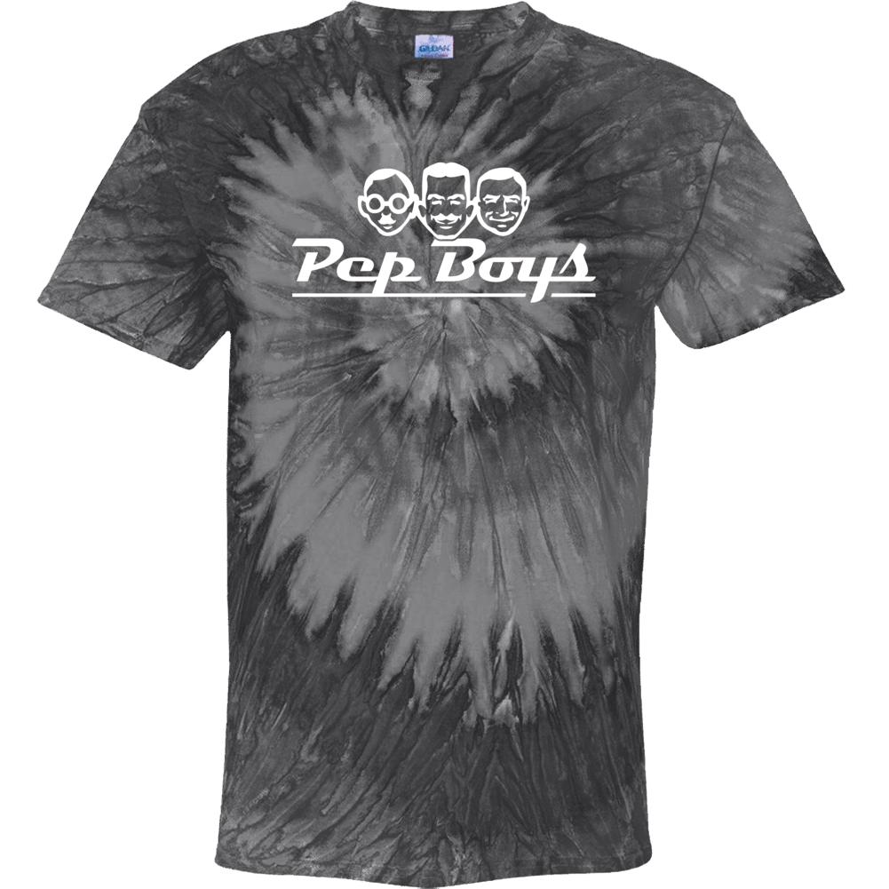 Pep Boys Auto Parts Cool Car Enthusiast Tie Dye