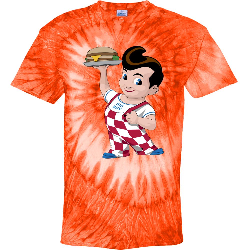 Big Boy Fast Food Mascot Tie Dye