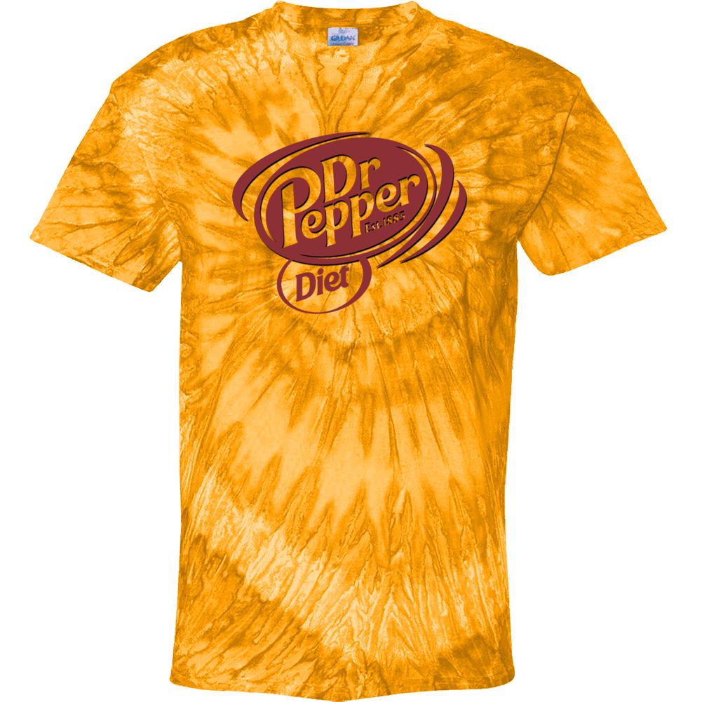 Diet Dr Pepper Best Soda Of All Time Soft Drink Lovers Tie Dye
